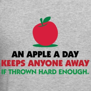 An Apple A Day 1 (dd)++ Hoodies & Sweatshirts - Men's Slim Fit T-Shirt