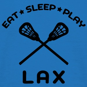 'Eat Sleep Play LAX' Tote Bag - Men's T-Shirt