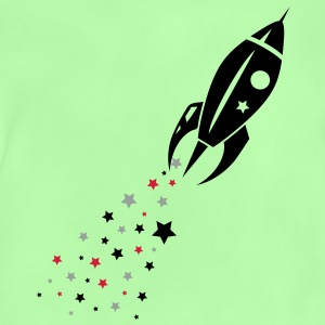 Some stars as rocket tail for a rocket Kids' Tops - Baby T-Shirt
