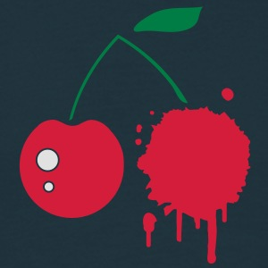A cherry graffiti  Aprons - Men's T-Shirt