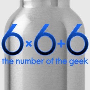 666 - the number of the geek T-shirts - Vattenflaska