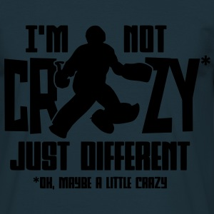 I'm Not Crazy (field hockey)  Aprons - Men's T-Shirt