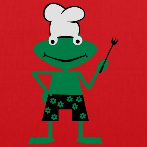 Cooking frog  Aprons - Tote Bag