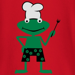 Cooking frog  Aprons - Baby Long Sleeve T-Shirt