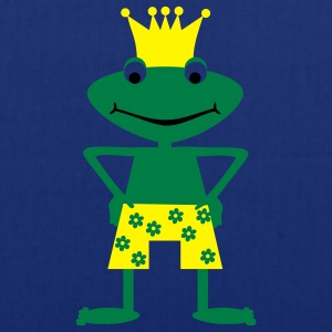 Frog King  Aprons - Tote Bag