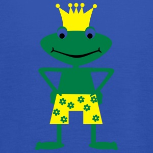 Frog King  Aprons - Women's Tank Top by Bella