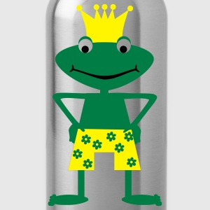 Frog King  Aprons - Water Bottle