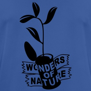 'Wonders of Nature' Hombres sudadera con capucha - Camiseta hombre transpirable
