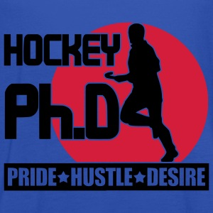 Hockey Ph.D (field hockey) Hoodies & Sweatshirts - Women's Tank Top by Bella
