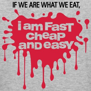 Fast Cheap Easy 2 (2c)++ Tröjor - Slim Fit T-shirt herr