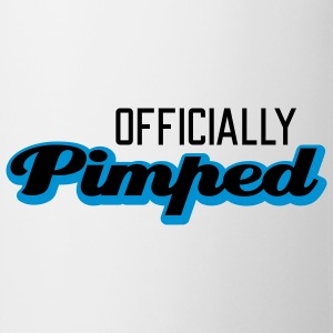 Officially Pimped | Pimp | Tuned | Tuning T-Shirts - Kop/krus
