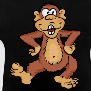 Dancing monkey Kinder sweaters - Baby T-shirt
