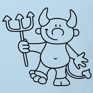 little devil Babybody - Ekologisk T-shirt barn