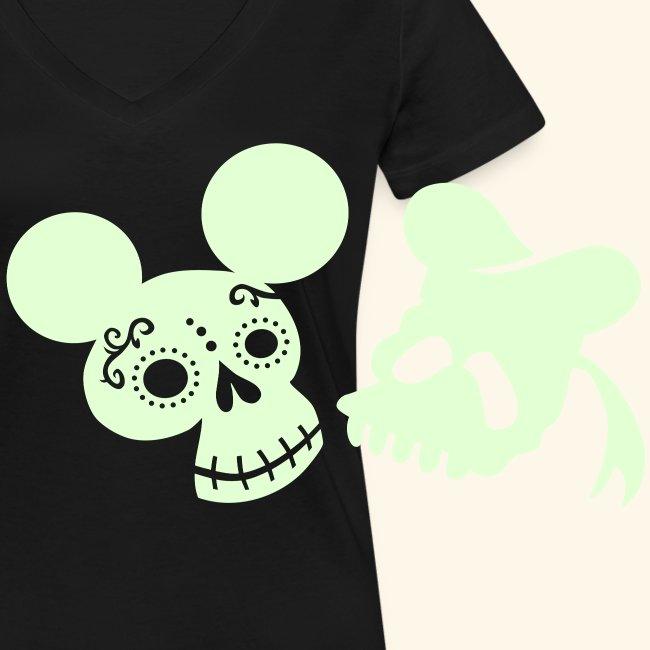 Ratón de los muertos, leuchtend