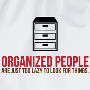 Organized People 2 (dd)++ T-shirts - Gymnastikpåse