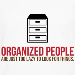 Organized People 2 (dd)++ T-skjorter - Premium langermet T-skjorte for menn