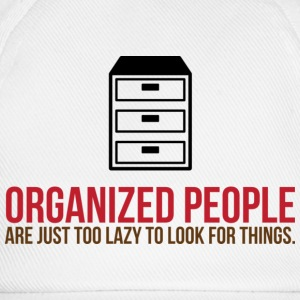 Organized People 2 (dd)++ T-Shirts - Baseballkappe