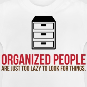 Organized People 2 (dd)++ Barneskjorter - Baby-T-skjorte