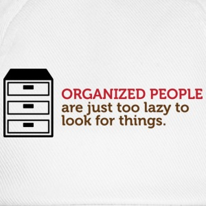 Organized People 1 (dd)++ T-shirts - Basebollkeps