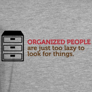 Organized People 1 (dd)++ Gensere - Premium langermet T-skjorte for menn