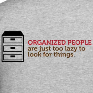 Organized People 1 (dd)++ Gensere - Slim Fit T-skjorte for menn