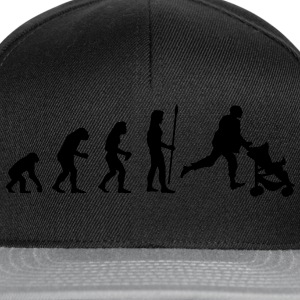 evolution_papa1 T-Shirts - Snapback Cap