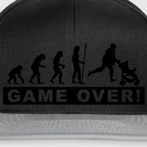 evolution_papa2 T-shirts - Casquette snapback