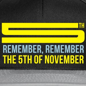 Vendetta - 5th November T-Shirts - Casquette snapback