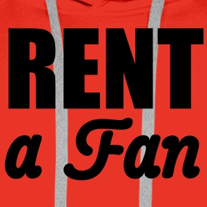 Rent a Fan | for rent T-Shirts - Mannen Premium hoodie