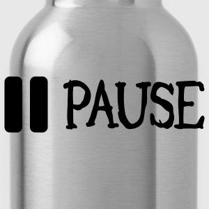 pause T-Shirts - Water Bottle