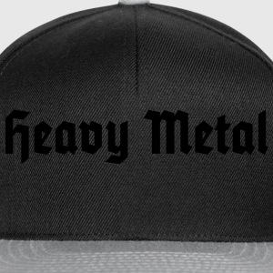 Heavy Metal, T-Shirt - Snapback Cap