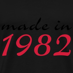 made in 1982 - Männer Premium T-Shirt