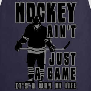 'Hockey Ain't Just A Game' Sweat-shirt à capuche Homme - Tablier de cuisine
