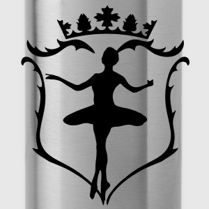 A crest with crown Bags  - Water Bottle