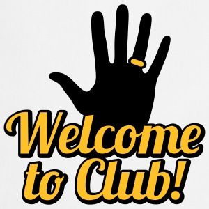Welcome to Club | left Hand | link Hand T-Shirts - Förkläde