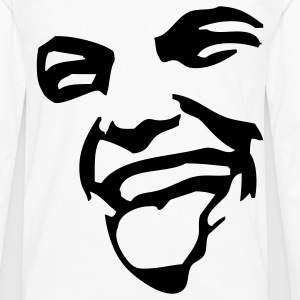 Face T-Shirts - Men's Premium Longsleeve Shirt
