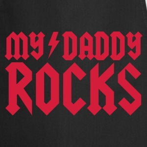 My Daddy rocks Kinder T-Shirts - Kochschürze