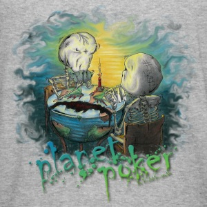 planet poker... and yes it is a virus! Sweat-shirts - Tee shirt près du corps Homme