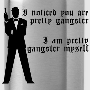 Pretty Gangster T-Shirts - Water Bottle