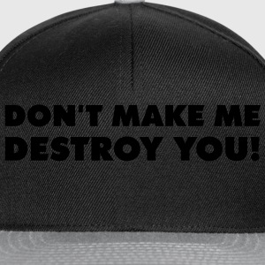 dont_make_quotation_1c Camisetas - Gorra Snapback