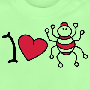 I love spiders Kinder Pullover - Baby T-Shirt