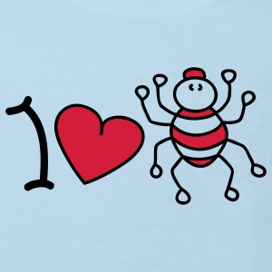 I love spiders Baby Bodysuits - Kids' Organic T-shirt