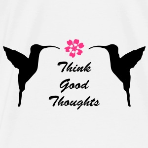 Think Good Thoughts - Premium-T-shirt herr