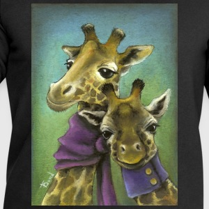 Giraffes - Men's Sweatshirt by Stanley & Stella