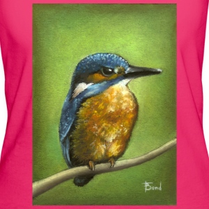 King fisher bird - Women's Organic T-shirt