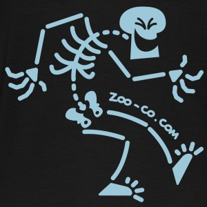 Naughty Skeleton Coats & Jackets - Men's Premium T-Shirt