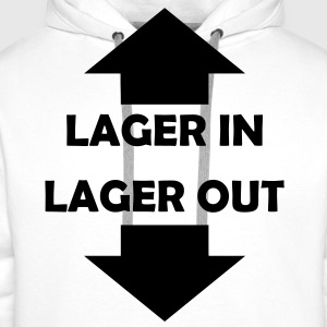 lager in lager out T-Shirts - Männer Premium Hoodie