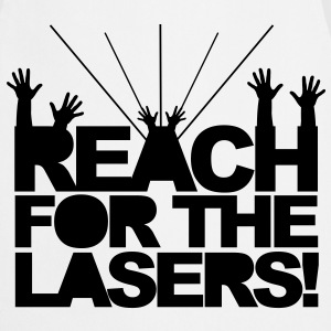 Reach for the Lasers Bluzy - Fartuch kuchenny