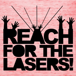 Reach for the Lasers Pullover - Top da donna della marca Bella