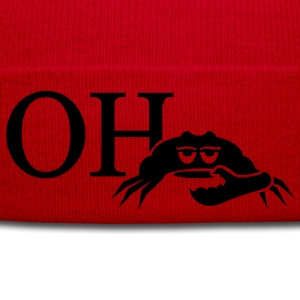 oh crab (1c)  Aprons - Winter Hat